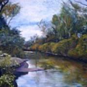 Orara River Nsw Australia 1995   Art Print