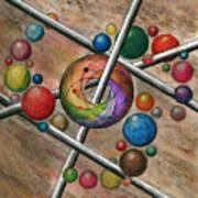 Orbital Ker Plunk  Art Print