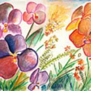 Orchid No. 12 Art Print