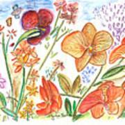 Orchid No. 9 Art Print