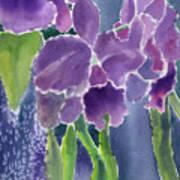 Orchid Rain Art Print