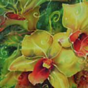 Orchid Series 11 Art Print
