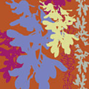 Orchids Caramel Art Print