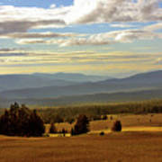 Oregon - Land Of The Setting Sun Art Print