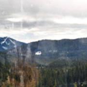 Oregon Cascade Range Landscape Art Print