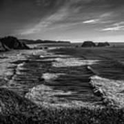 Oregon Coast At Sunset Art Print