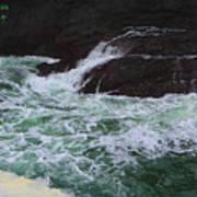 Oregon Ocean Pool Art Print