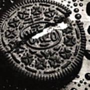 Oreo Cookie Art Print by Nancy Mueller