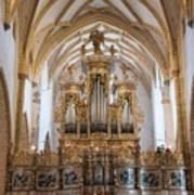 Organ Of The Gothic-baroque Church Of Maria Saal Art Print