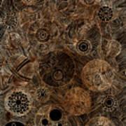 Organic Forms Art Print by Frank Tschakert