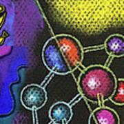Organic Health Food And Biotechnology  Art Print