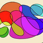 Organic Kaleidoscope Art Print