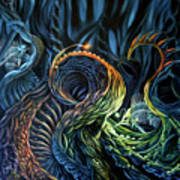 Organic Underworld Art Print