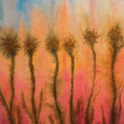 Organic Watercolor Art Art Print