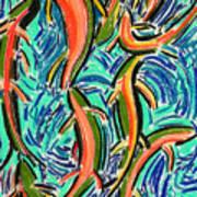 Orgy Oncorynchus Art Print