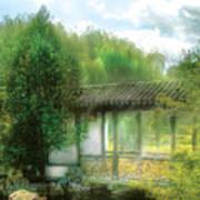 Orient - Bridge - Chinese Bridge  Art Print