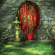 Orient - Door - The Moon Gate Art Print