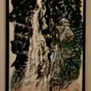 Oriental Falls Art Print