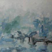 Oriental Scene Art Print