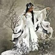 Oriental Sprinkle Art Print