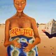 Origin Of Life Art Print