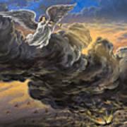 Fifth Trumpet Angel Art Print