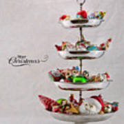 Ornament Compote Art Print