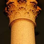 Ornamental Column Art Print