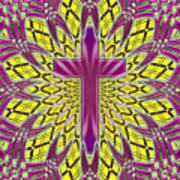 Ornamental Cross Art Print