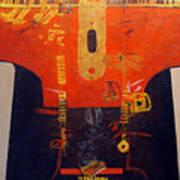 Ornamental Kimono Art Print