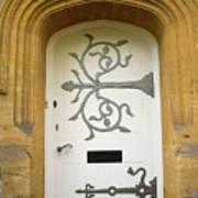Ornate Door 1 Art Print