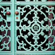 Ornate Doors Art Print
