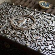 Ornate Wooden Chest Art Print