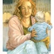Orphans And Widows Art Print