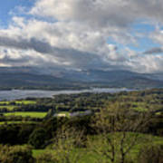 Orrest Head And Windermere Art Print