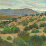Ortiz Mountains Summer Day Art Print