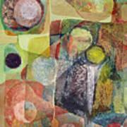 Os1961dc002bo Abstract Landscape Potosi 17x22.25 Art Print