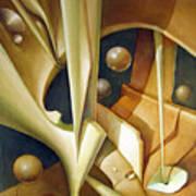 Os1980dc007 Celestial Globe No.7 24x28.25 Art Print