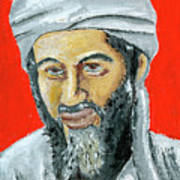 Osama Art Print
