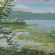 Oseetah Lake Cove Art Print