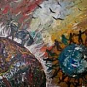 Osho's Vision Art Print