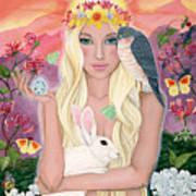 Ostara/spring Art Print