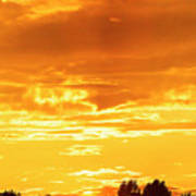 Oswego Sunset 5 Art Print