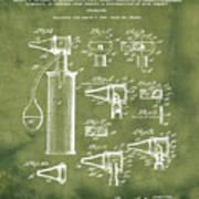 Otoscope Patent 1927 Grunge Art Print