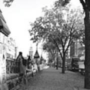 Ottawa Sidewalk Art Print