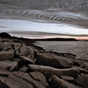 Otter Cliffs Dawn #5 Art Print