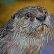 Otter Or Not Art Print