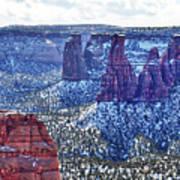 Otto Trail Overlook Art Print