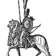 Ottoman Cavalryman, 1576 Art Print
