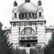 Ottowagners Church Art Print